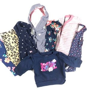 Carters Baby Girl Clothing Bundle